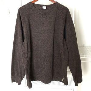 Columbia L brown sweatshirt warm
